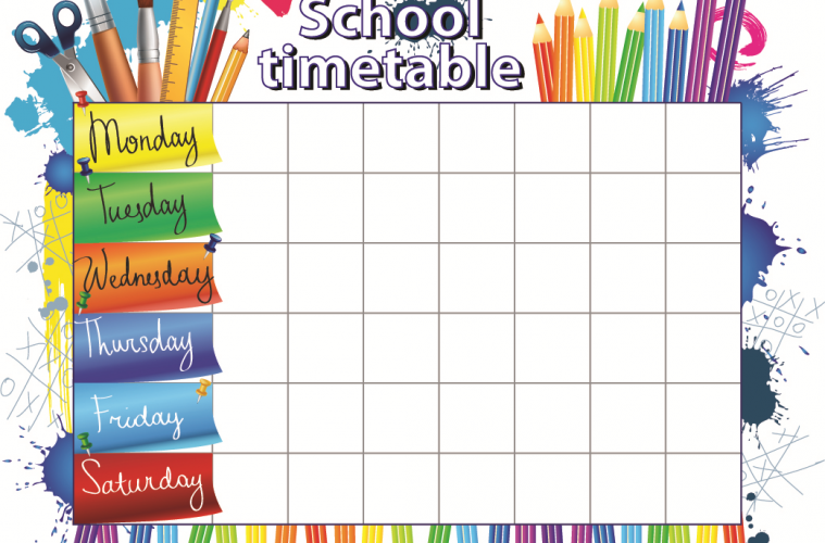Class Timetable Creative Chinese – Class Timetable