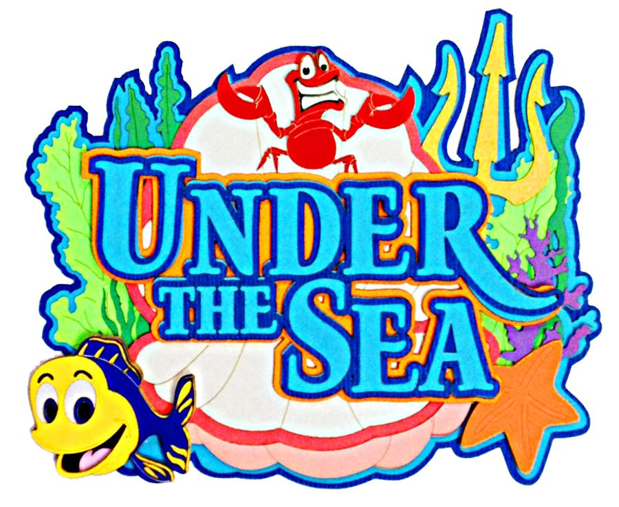 Under The Sea Theme Creative Chinese