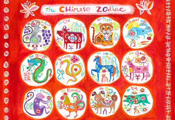 image relating to Chinese Zodiac Printable titled Chinese Zodiac Flashcards Resourceful Chinese