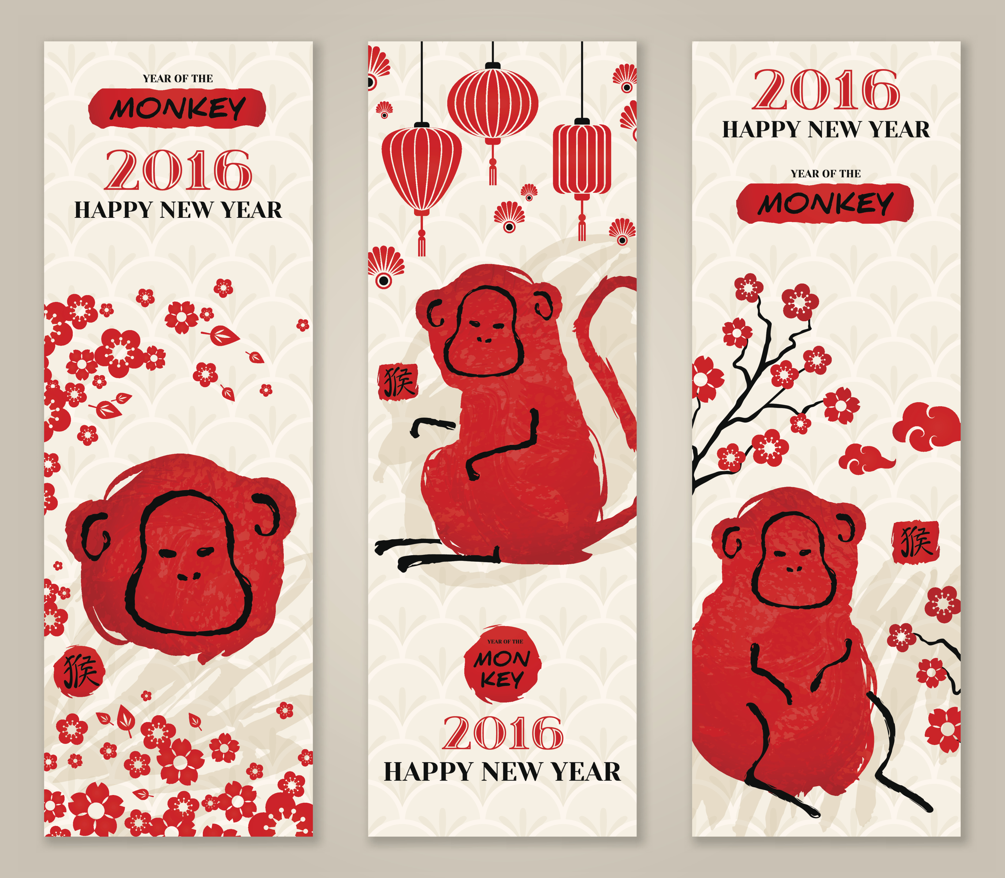 chinese new year bookmarks creative chinese
