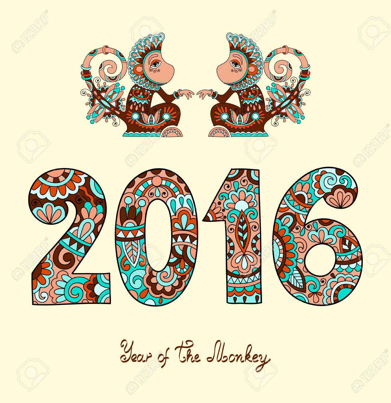 monday 8 02 2016 happy chinese new year of the red monkey - Chinese New Year Of The Monkey
