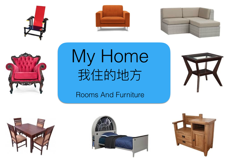 Where I Live (Rooms And Furniture)